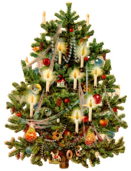 Began the use of christmas trees arranging what is known as